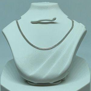 Sterling Silver Super Thin Italian Chain Necklace